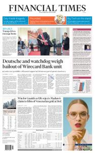 Financial Times Europe - July 3, 2020