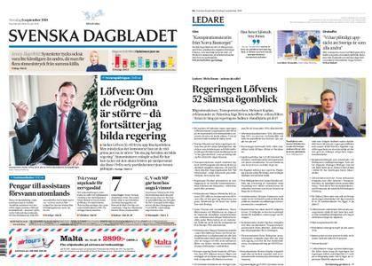 Svenska Dagbladet – 06 september 2018