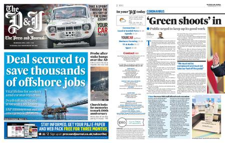The Press and Journal Moray – April 01, 2020