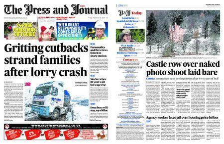 The Press and Journal Moray – November 24, 2017