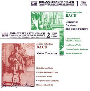 Bach J.S. – Concertos for Oboe and Oboe d'Amore/Violin Concertos (Helmut Müller-Brühl)