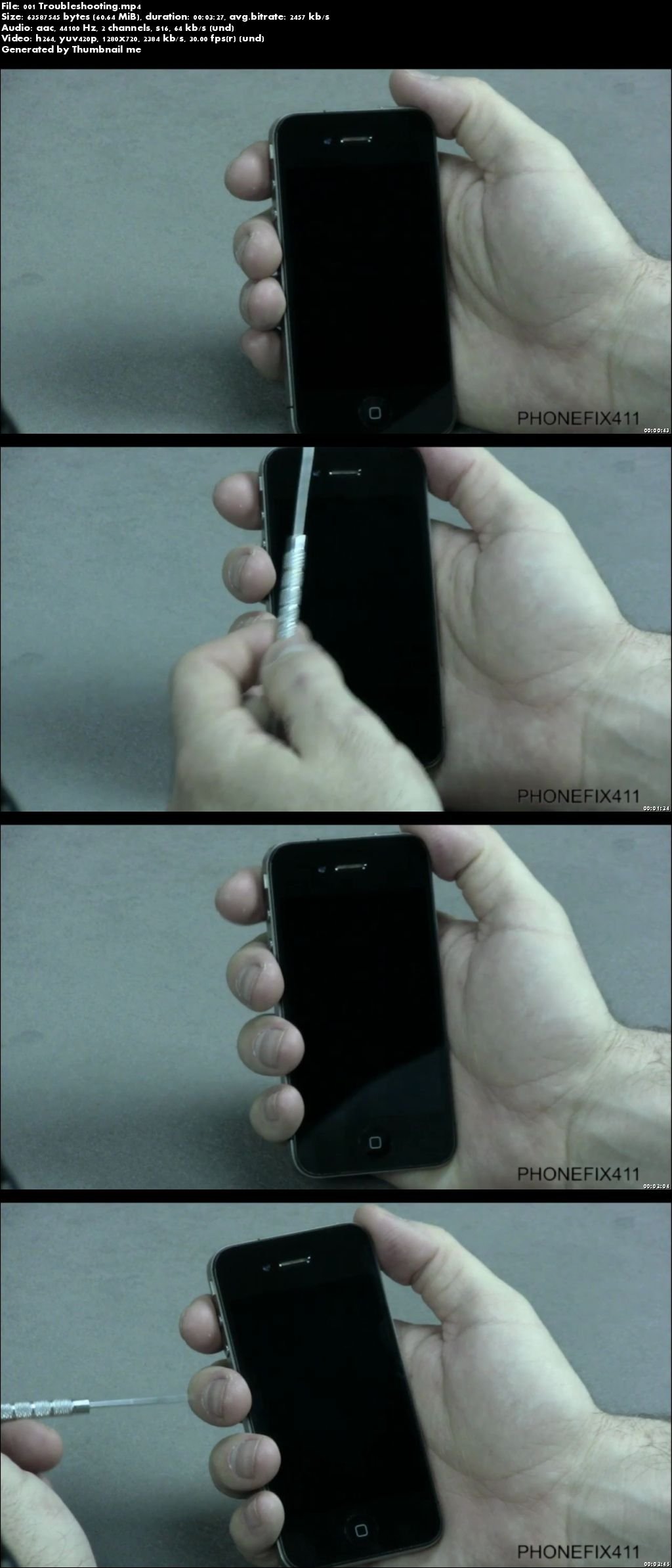 iPhone 4GSM Repair Guide. The Must Have For Any iPhone Tech!