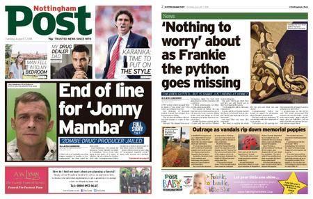Nottingham Post – August 07, 2018
