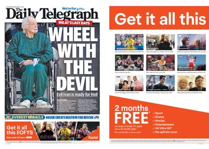 The Daily Telegraph (Sydney) – May 29, 2019