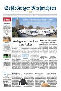 Schleswiger Nachrichten - 23. Oktober 2018