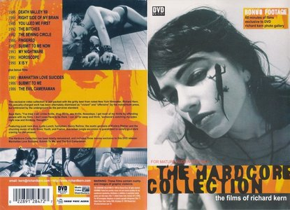 The Hardcore Collection: The Films of Richard Kern (1999) [ReUP 2018 - OUT OF PRINT]