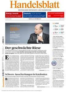 Handelsblatt - 02. Oktober 2017