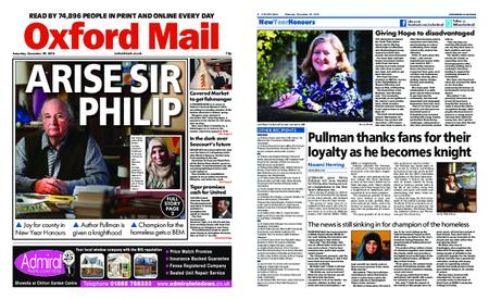 Oxford Mail – December 29, 2018