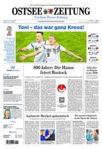 Ostsee Zeitung Wolgast - 25. Juni 2018
