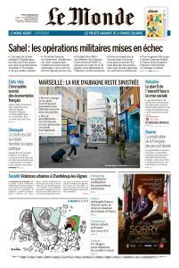 Le Monde du Mardi 5 Novembre 2019