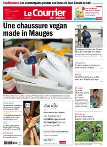 Le Courrier de l'Ouest Cholet – 12 novembre 2020