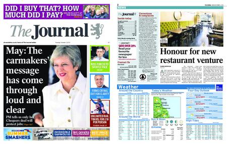 The Journal – October 02, 2018
