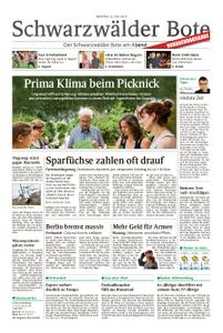 Schwarzwälder Bote Bad Wildbad - 22. Juli 2019