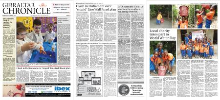 Gibraltar Chronicle – 22 March 2021
