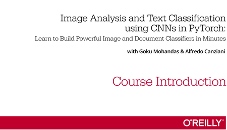 Image Analysis and Text Classification using CNNs in PyTorch
