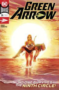 Green Arrow 036 2018 2 covers Digital Zone-Empire