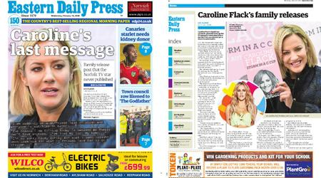 Eastern Daily Press – February 19, 2020