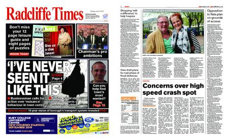 Radcliffe Times – June 27, 2019