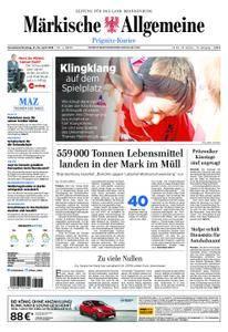 Märkische Allgemeine Prignitz Kurier - 21. April 2018