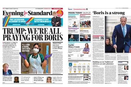 London Evening Standard – April 06, 2020