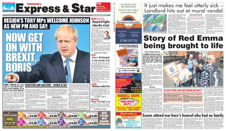 Express and Star Sandwell Edition – July 24, 2019