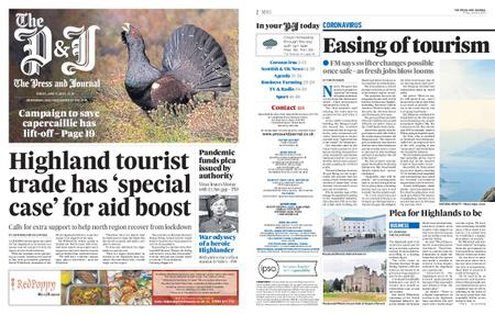 The Press and Journal Moray – June 12, 2020