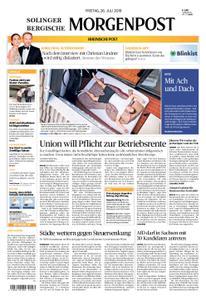 Solinger Morgenpost – 26. Juli 2019