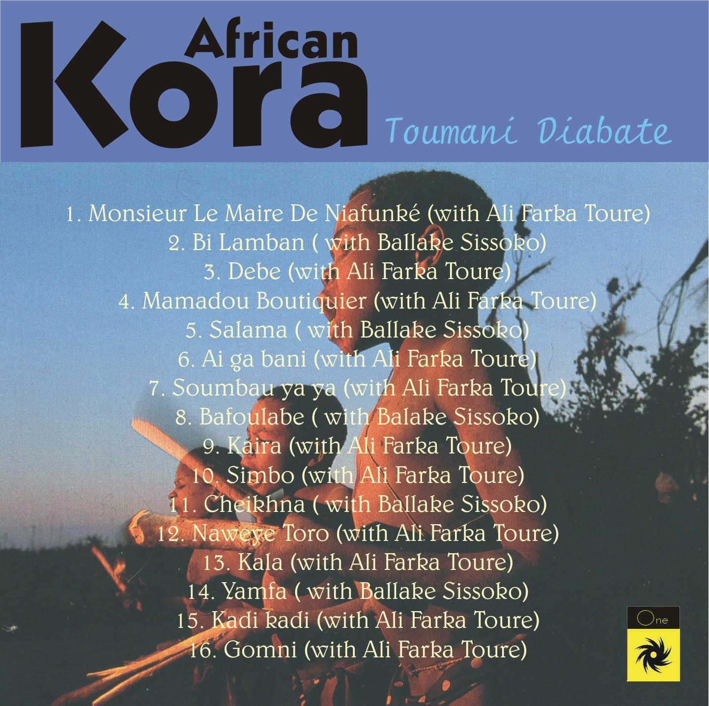 AFRICAN KORA MUSIC - TOUMANI DIABATE