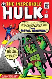 Incredible Hulk 006 1963 Digital