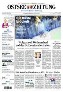 Ostsee Zeitung Wolgast - 11. Januar 2018