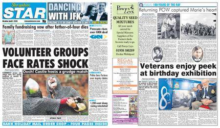 Shropshire Star Shrewsbury Edition – April 02, 2018