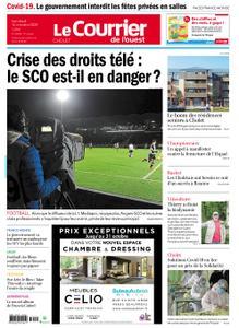 Le Courrier de l'Ouest Cholet – 16 octobre 2020