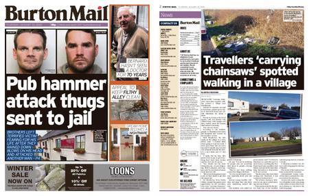 Burton Mail – January 30, 2020