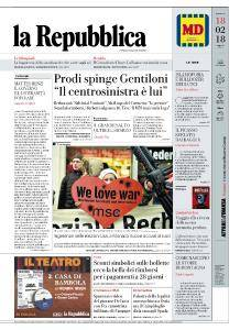 la Repubblica - 18 Febbraio 2018