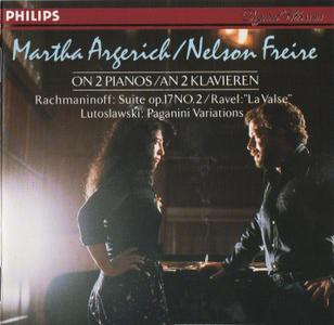 Martha Argerich, Nelson Freire - Music for Two Pianos: Rachmaninoff, Ravel, Lutoslawski (1983)