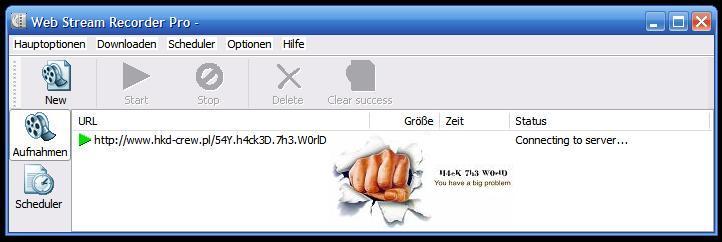 Web Stream Recorder Pro ver. 1.22