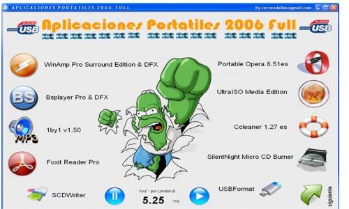 Aplicaciones Portátiles Juntas 2006