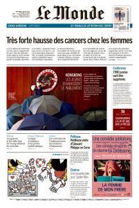 Le Monde du Mercredi 3 Juillet 2019