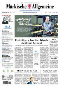 Märkische Allgemeine Luckenwalder Rundschau - 04. April 2018