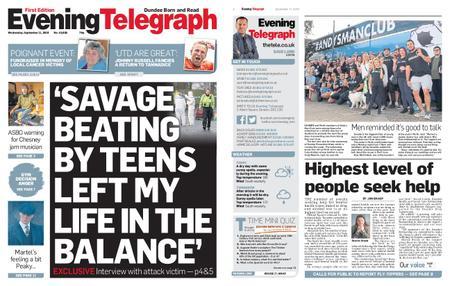 Evening Telegraph First Edition – September 11, 2019