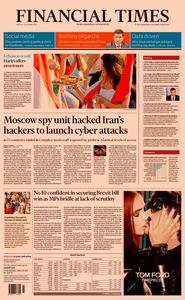 Financial Times UK – 22 October 2019