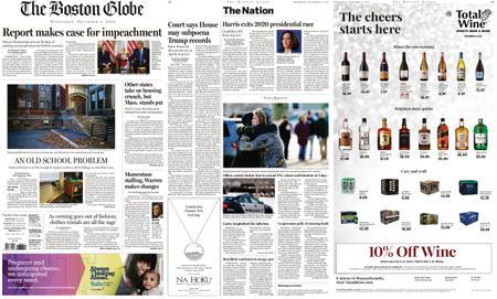 The Boston Globe – December 04, 2019