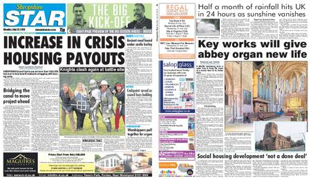 Shropshire Star Shrewsbury Edition – July 29, 2019