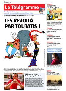 Le Télégramme Auray – 23 octobre 2019