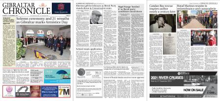 Gibraltar Chronicle – 12 November 2019