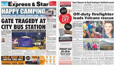 Express and Star City Edition – February 21, 2018