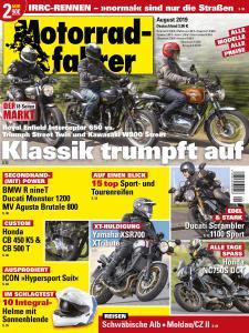 Motorradfahrer - August 2019