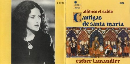 Esther Lamandier - Cantigas + DISCOGRAPHY
