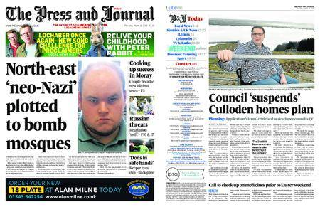 The Press and Journal Moray – March 15, 2018