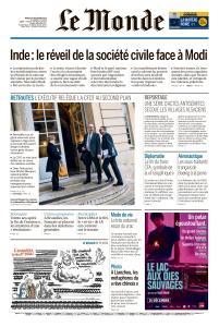 Le Monde du Mardi 24 Décembre 2019